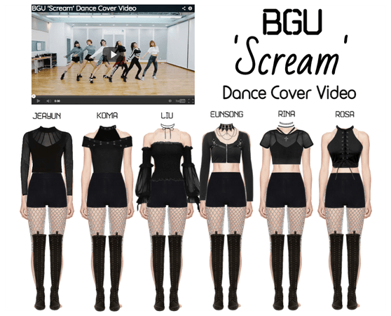 BGU 'Scream' Dance Cover Video