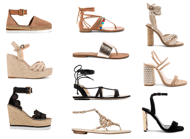 Amalfi Coast Footwear