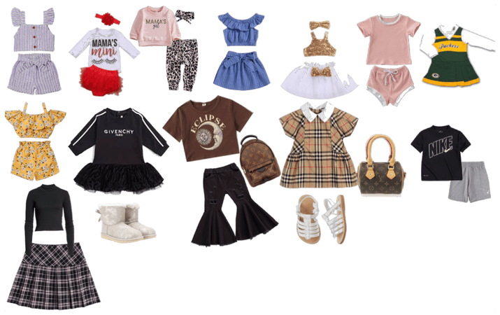 baby outfits i spent an min to do this