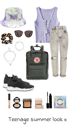 A typical teenager  summer look