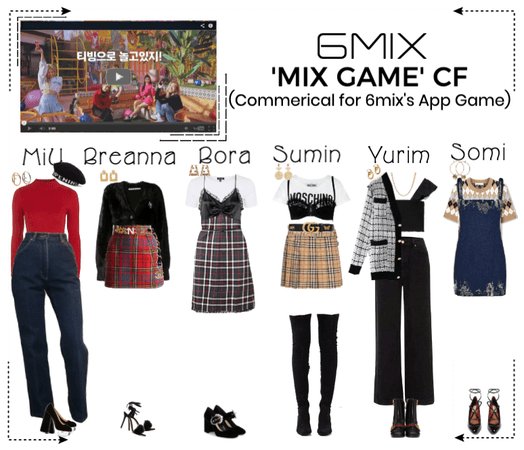 《6mix》'MIX GAME' App Commerical