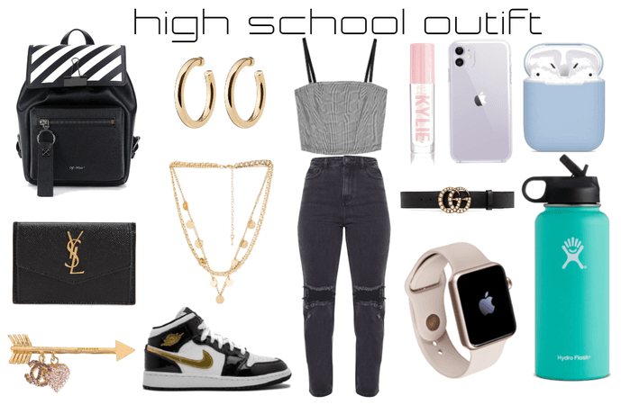 high school outift