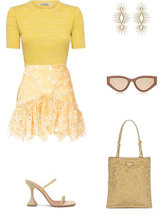 Yellow  summer colour