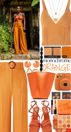 Monochrome Orange