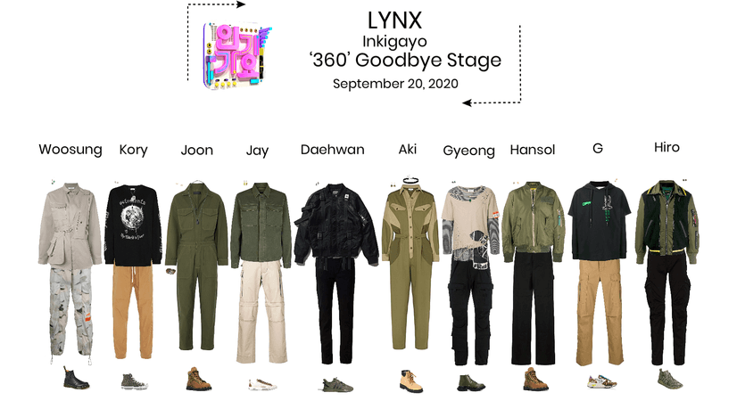 Lynx// '360' Inkigayo Goodbye Stage