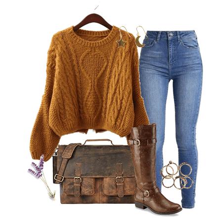 Oversized Fall Sweater