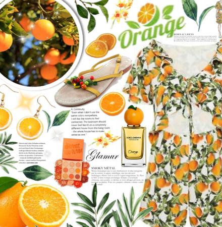 Orange 🍊🌿☘