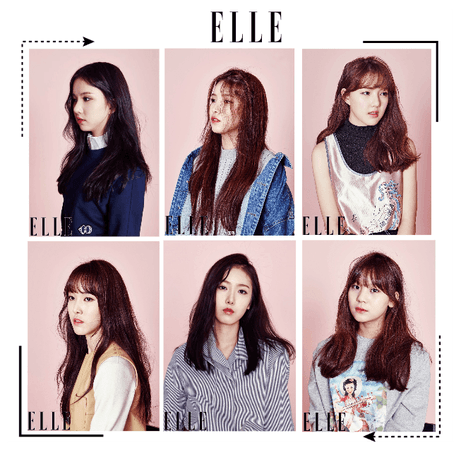《6mix》Elle Magazine