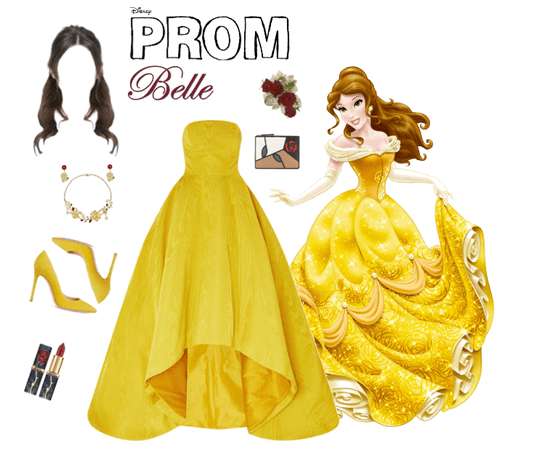 Belle Goes to Prom