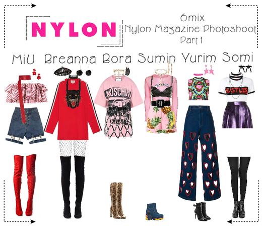 《6mix》Nylon Magazine Photoshoot (Part 1)