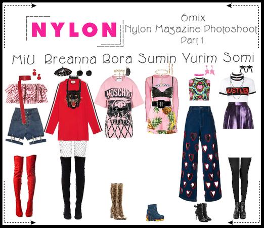 《6mix》Nylon Magazine Photoshoot (Part 1)