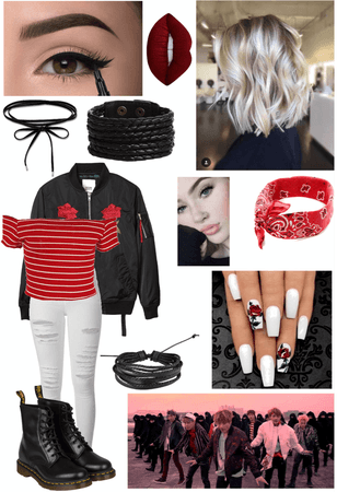 BTS Not Today Outfit #1