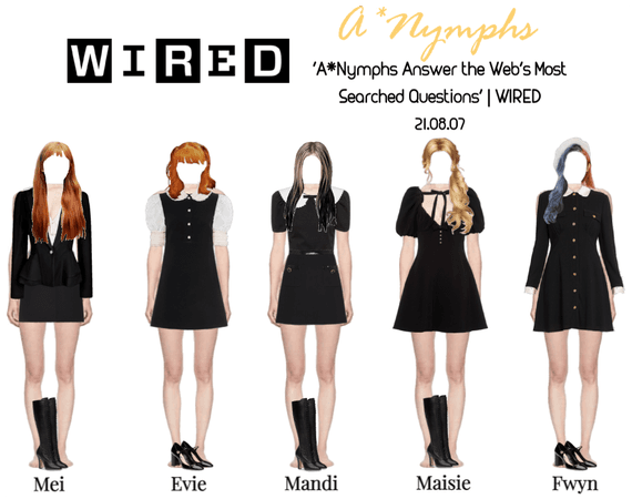 A*Nymphs on WIRED   Most Searched Questions