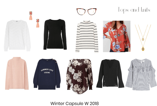Winter capsule 2018- tops and knits