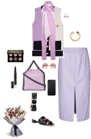 Lilac color day