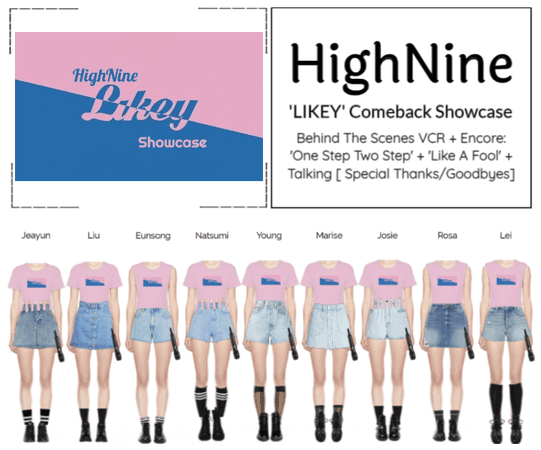 HighNine (하이 나인) 'LIKEY' Comeback Showcase