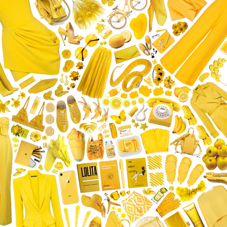 All in yellow