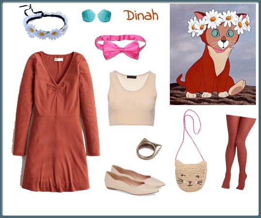 Dinah outfit - Disneybounding