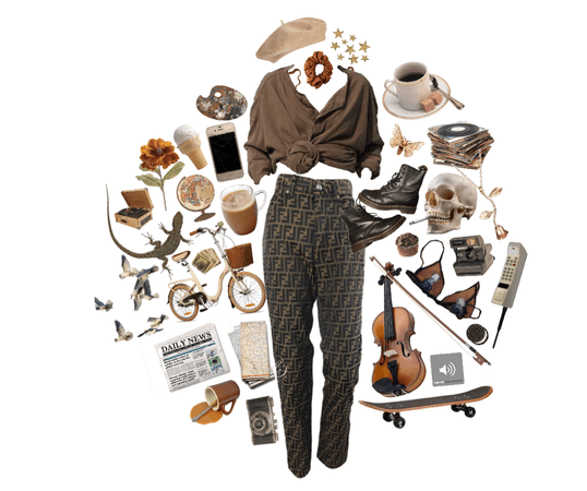 brown fall aesthetic