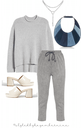 Comfy— yet chic.