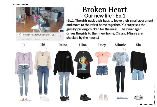 Broken Heart Our new life - Ep.1