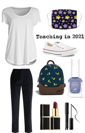 teaching in 2021 (female teacher)