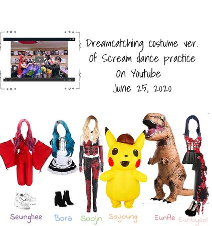 Dreamcatching scream costume ver.
