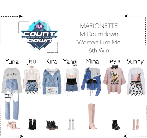 MARIONETTE (마리오네트) [M Countdown] 'Woman Like Me' | 6th Win