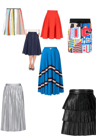 Lorrie Gonzales Skirt options