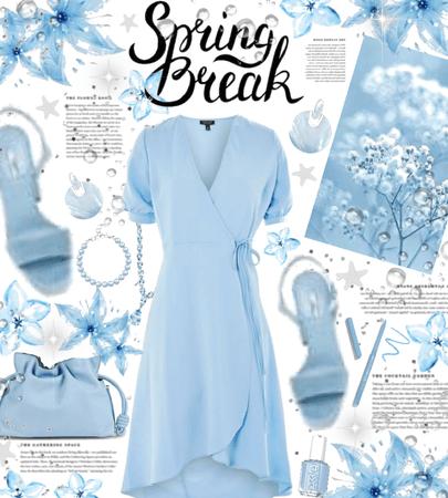 spring break 💙