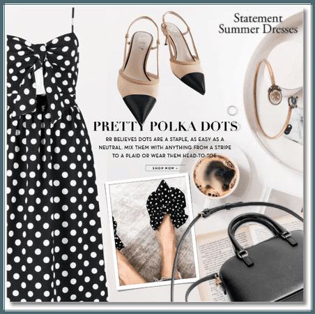 Pretty Polka Dots - The Statement Summer Dress