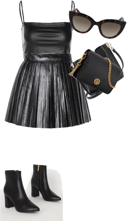 girl pretty black outfit