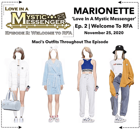 MARIONETTE (마리오네트) [SUNNY] 'Love In A Mystic Messenger' Ep. 2