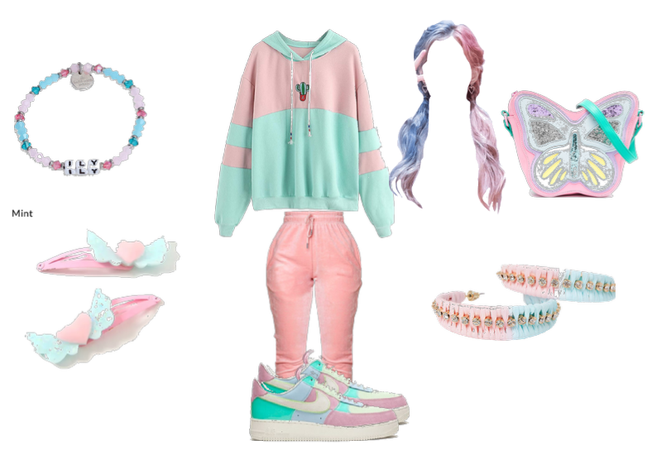 color combinations challenge: Pink and blue