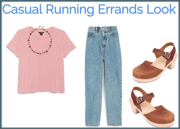 Casual Running Errands Look