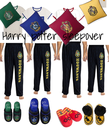 Harry Potter sleepover!