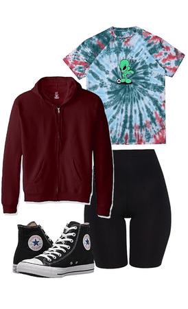 Zendaya/Rue outfit- Euphoria
