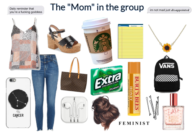 """The """"mom"""" in the group"""