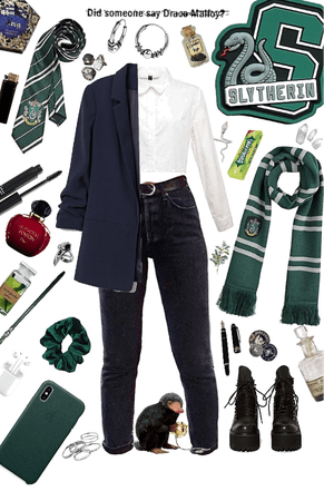 slytherin babe 🐍