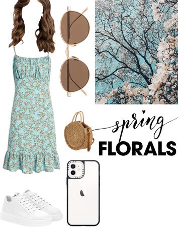 •spring florals•