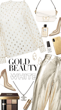 gold and white beauty