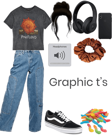 Graphic t's
