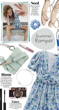Summer Romper Style