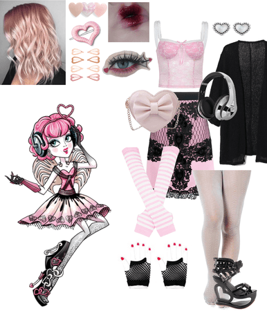 Cupid inspired outfit