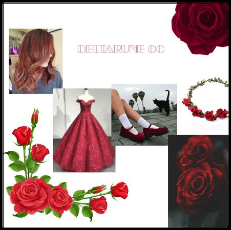 Deltarune oc (princess of roses)