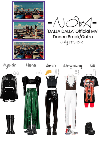 -NOVA- 'DALLA DALLA' Official MV | Dance Break/Outro Scene