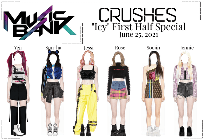 """Crushes (호감) """"쌀쌀한 (Icy)"""" Half Year Special"""