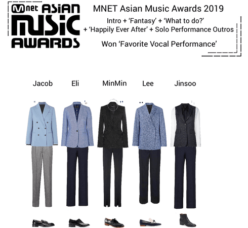 Zus//MAMA 2019 + Won Favorite Vocal Performance