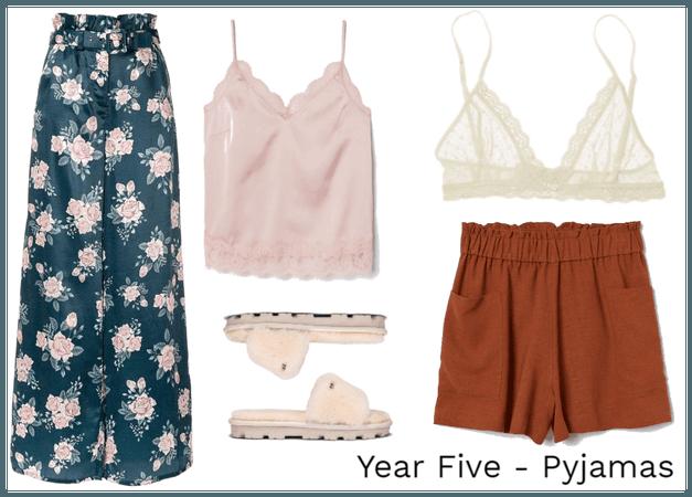 Year Five - Pyjamas