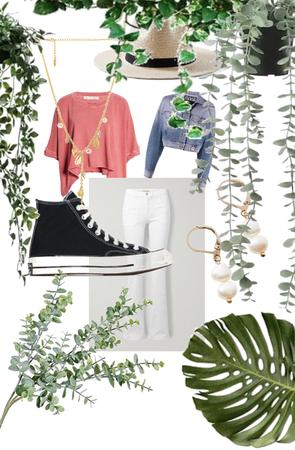 cute summer farm outfit